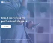 E-Mail Marketing mit ConvertKit Startseite