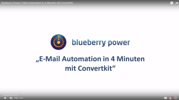 Email automation Blueberry Power